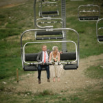 Arrive at your wedding in style at Black Mtn. Lodge